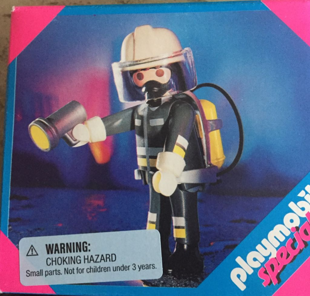 4608 Firefighter City Life Special Playmobil - City Life (4608) front image (front cover)