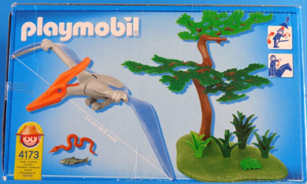 4173 pterodactilo playmobil dinosaurios 4173 from for Playmobil dinosaurios