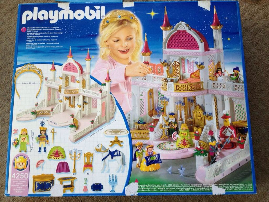 Playmobil 4250 4254 4256 traumschloss 4158 4338 4692 for Chateau playmobil 4250