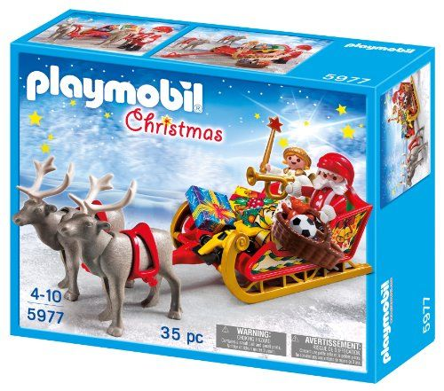 Playmobil Santa's Sleigh Playmobil - Christmas (5977) front image (front cover)