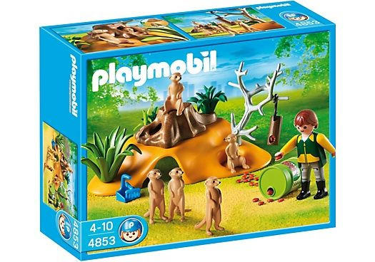 4853 suricatas playmobil wild life 4853 from sort it apps. Black Bedroom Furniture Sets. Home Design Ideas