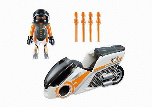 5288spy team skybike playmobil  top agents 2 5288