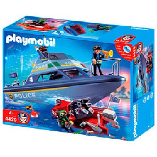 4429police boat playmobil  polizei 4429  from sort it