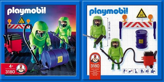 3180 Hazmat Team Playmobil - Rescue (3180) front image (front cover)