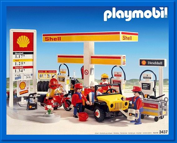 3437 Shell Garage Playmobil City Life 3437 From Sort It Apps