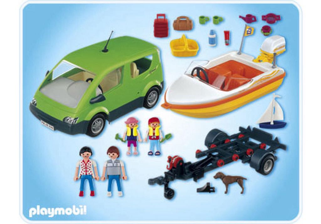 Playmobil Auto Mit Boot