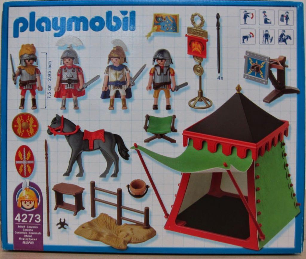 4273 Roman Camp Playmobil - Historia - Romanos (4273) - from