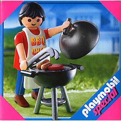 4649 Dad With Bbq Playmobil Playmobil Special 4649 From Sort