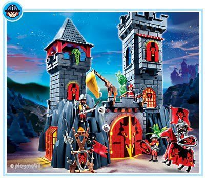 5757 dragon knight castle playmobil castles knights. Black Bedroom Furniture Sets. Home Design Ideas