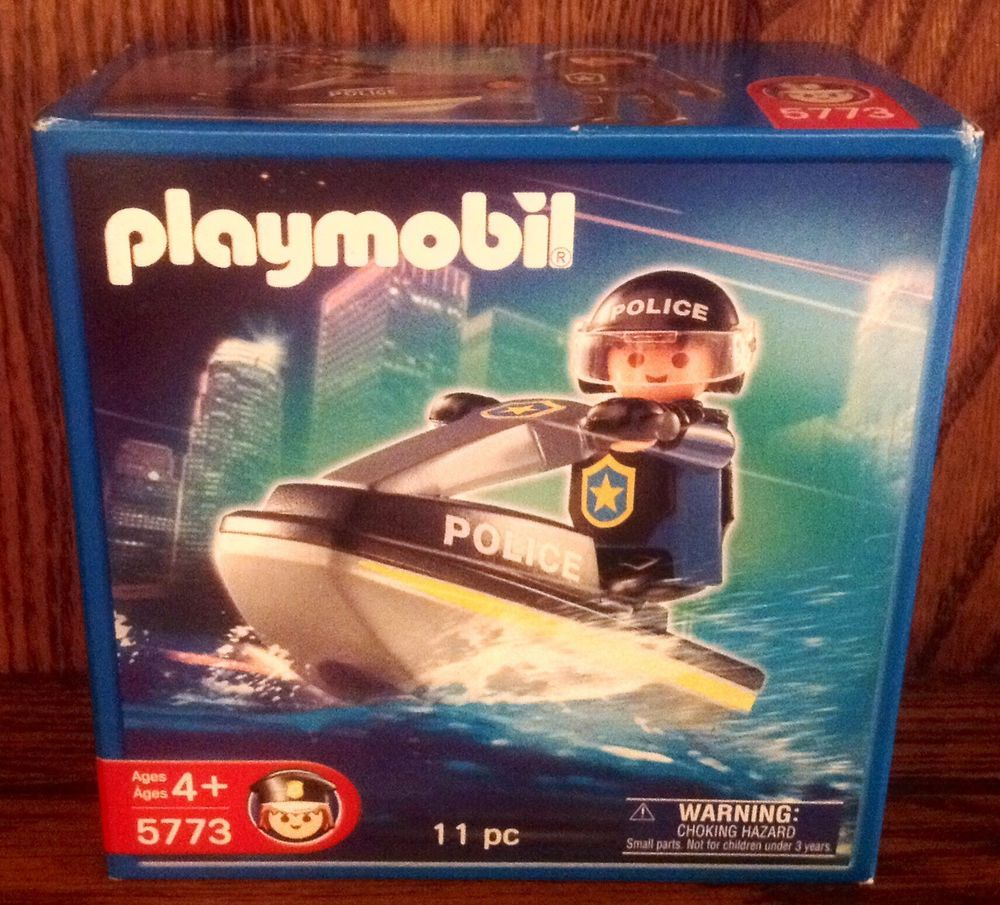 5773 Jet Ski Playmobil (5773) front image (front cover)
