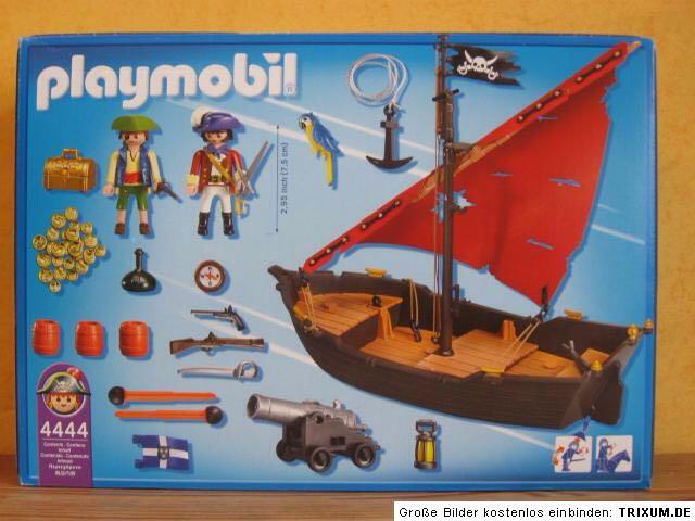 4444 barco pirata peque o playmobil piratas 4444 for Barco pirata playmobil