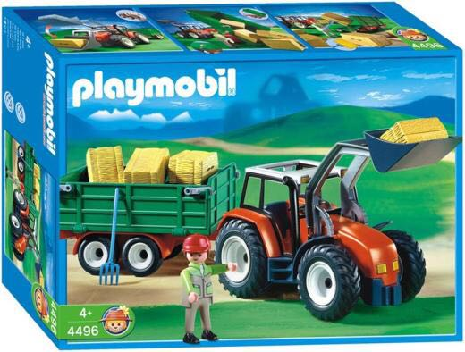 Traktor mit frontlader playmobil bauernhof from sort it