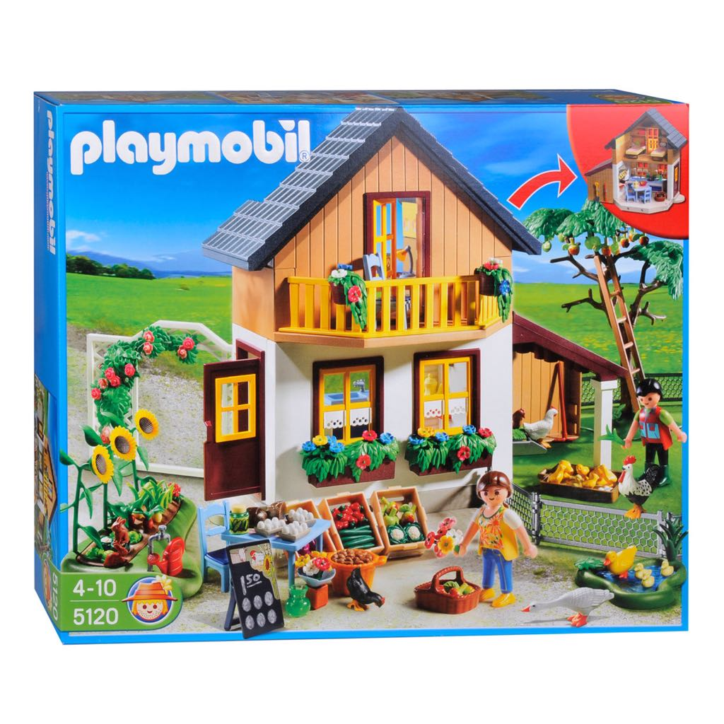 5120 casa de la granja playmobil country granja 5120 for La granja de playmobil precio
