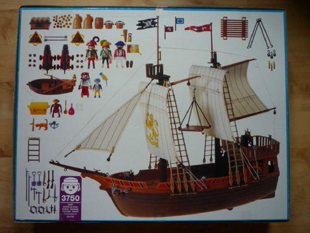 Barco pirata playmobil piratas 3750 from sort it apps for Barco pirata playmobil
