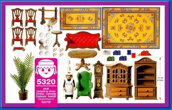 Living Room Playmobil (5320) - from Sort It Apps