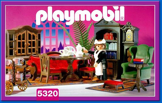 Living room playmobil 5320 from sort it apps for Playmobil dining room 5335