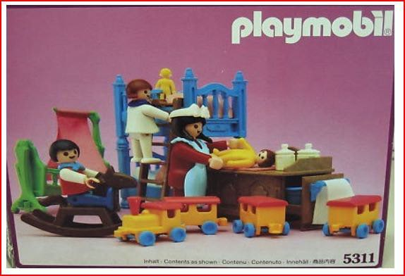 Childrens Room Playmobil (5311) front image (front cover)