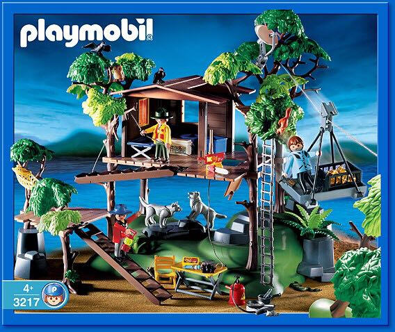 3217 tree house playmobil wild life 3217 from sort it apps. Black Bedroom Furniture Sets. Home Design Ideas