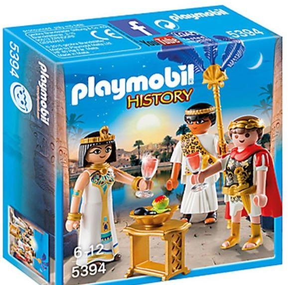 Caesar en cleopatra playmobil history egypte et romains - Egypte playmobil ...