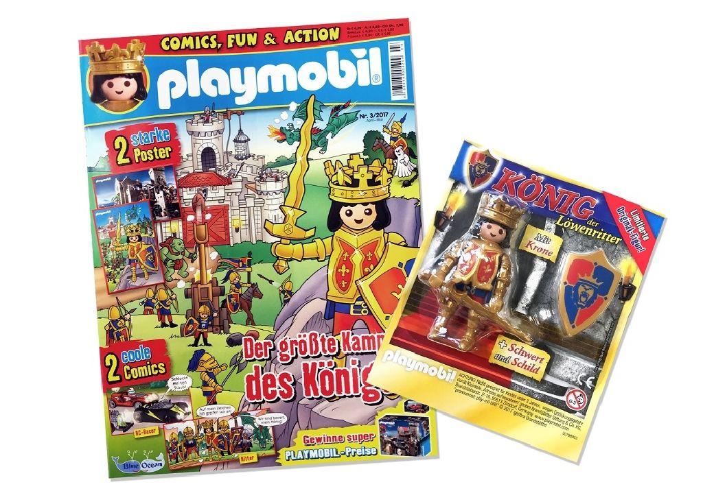 Rei dos Cavaleiros Playmobil (30790484) back image (back cover, second image)