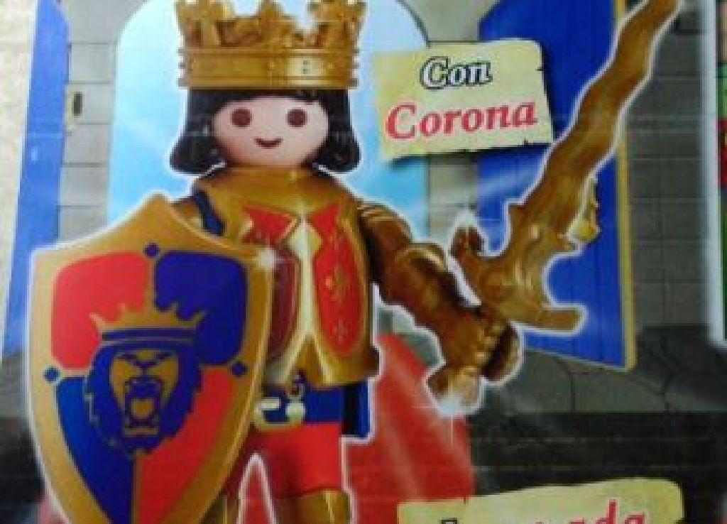 Rei dos Cavaleiros Playmobil (30790484) front image (front cover)