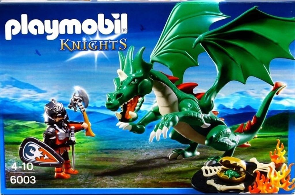Great Dragon 6003 Playmobil - Knights (6003) front image (front cover)