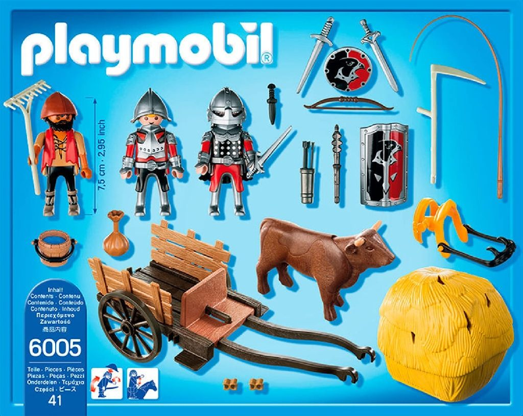 6005 Playmobil Playmobil (6005) back image (back cover, second image)