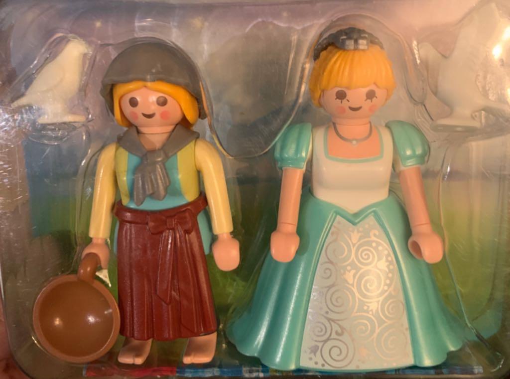 Princesse Et Servante Playmobil - Royal (6843) front image (front cover)