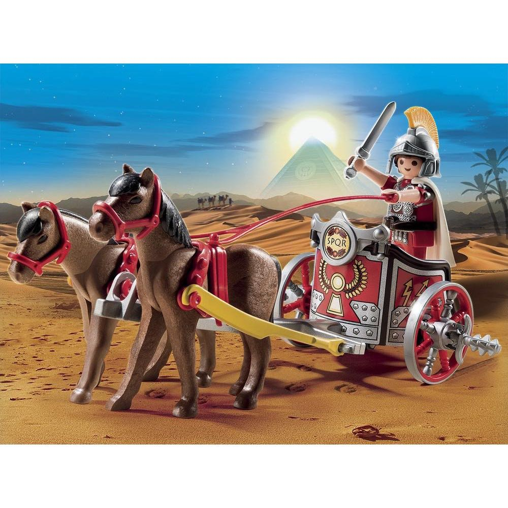 Char Romain Playmobil - History Egypte Et Romains (5391) front image (front cover)