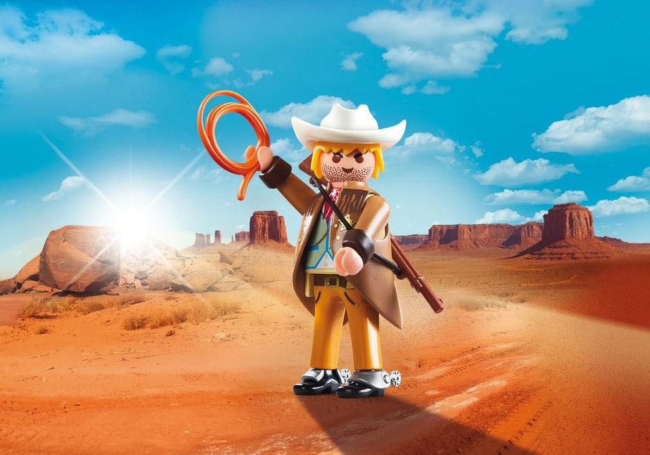 Plamo-Friend Sheriff Playmobil - Personnages (9334) front image (front cover)