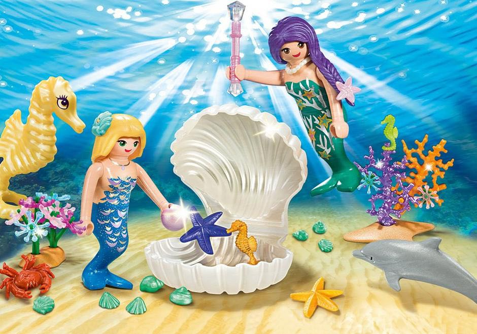 Valisette Sirènes Playmobil - Princesse (9324) front image (front cover)
