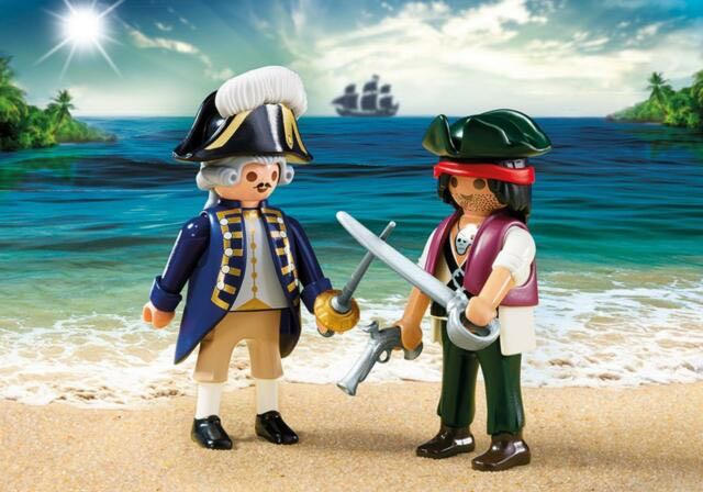 Pirate Et Soldat Royal Playmobil - Pirate (6846) front image (front cover)