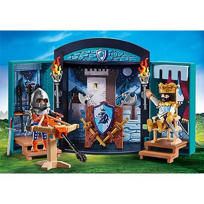 Valisette Chevalier Playmobil - Royal (5659) front image (front cover)