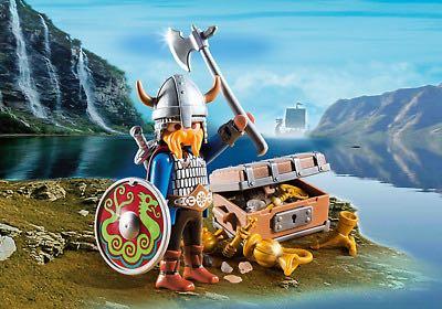 Viking Avec Trésor Playmobil - Pirate Et Viking (5371) front image (front cover)