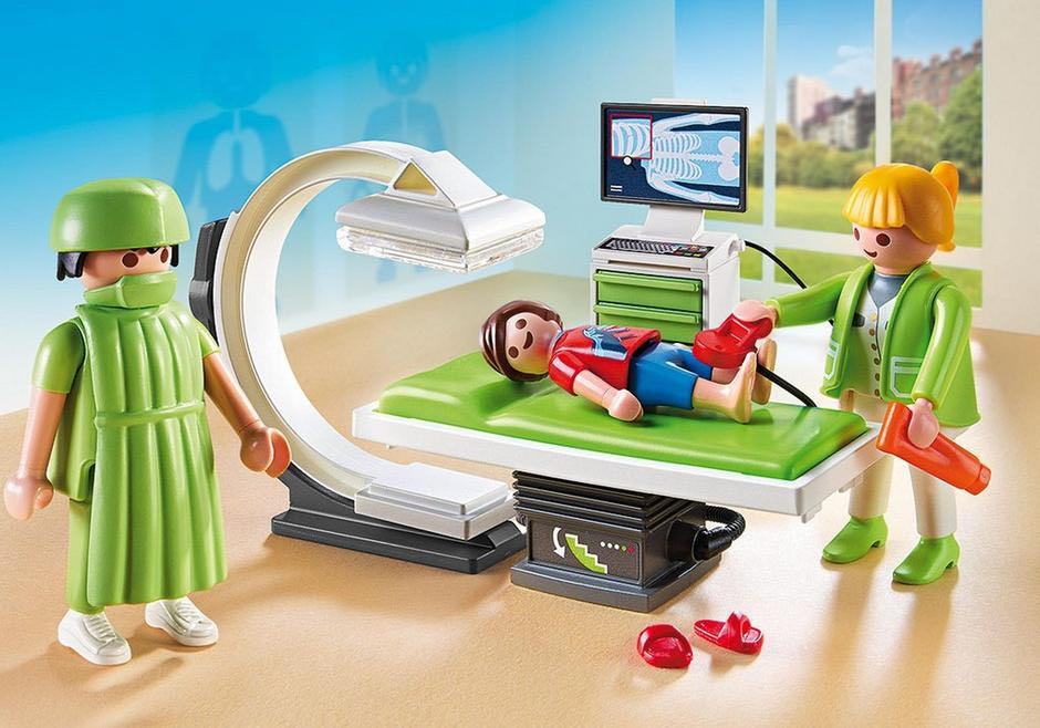 Salle De Radiologie Playmobil - Medical (6659) front image (front cover)