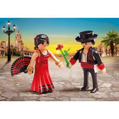 Danseurs De Flamenco Playmobil - Personnages (6845) front image (front cover)