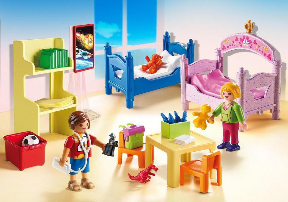 Chambre D'Enfants Avec Lits Superposés Playmobil - Vie Domestique (5306) front image (front cover)