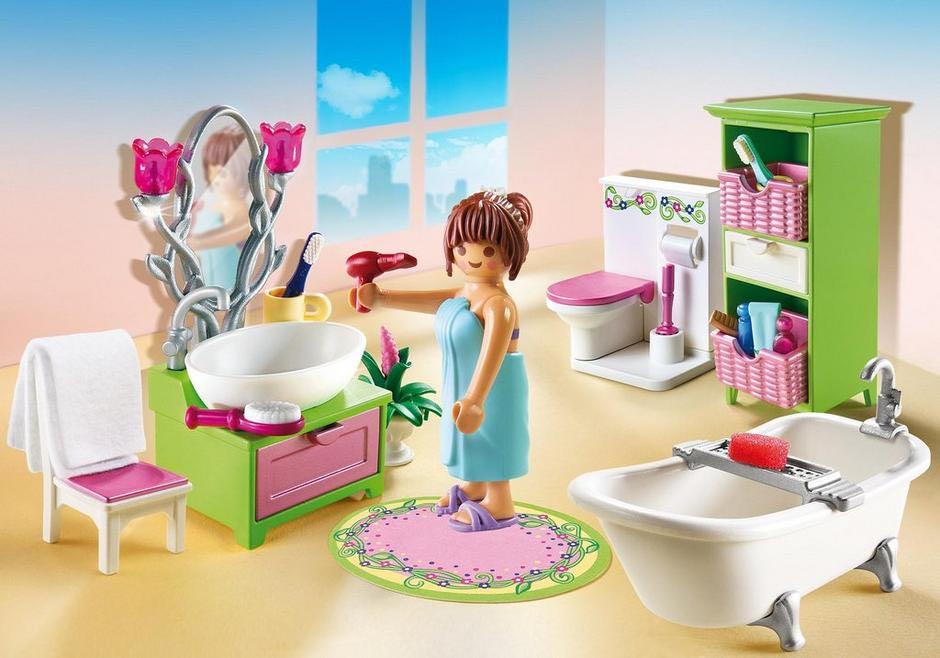 Salle De Bain Et Baignoire Playmobil - Vie Domestique (5307) front image (front cover)