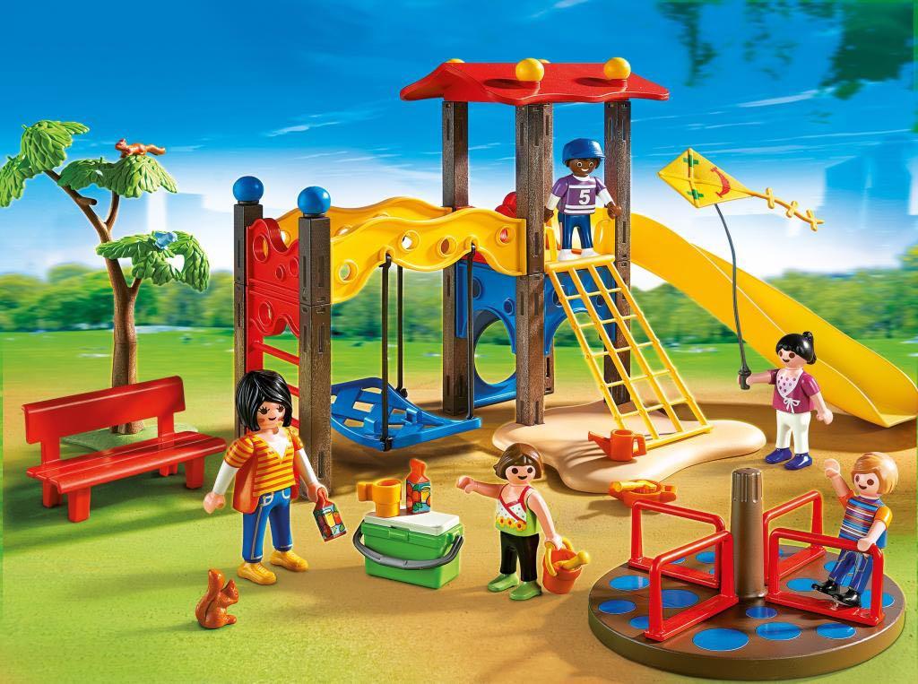 Parc De Jeux Playmobil - Vie Urbaine (5612) front image (front cover)