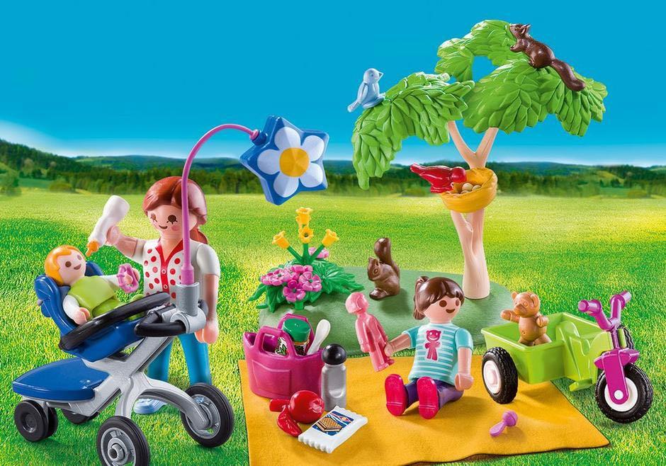 Pique Nique En Famille Playmobil - Famille (9103) front image (front cover)