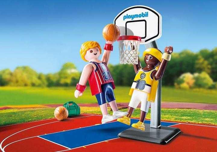 Joueurs De Basket Ball Playmobil - Sport (9210) front image (front cover)