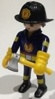 9241. Series 12 (6. Bombero) Playmobil - Figures (9241) front image (front cover)