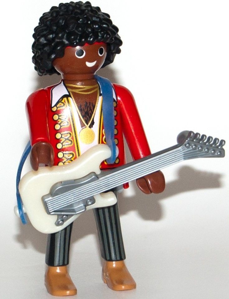 9146. Series 11 (5. Jimmy Hendrix) Playmobil - Figures (9146) front image (front cover)