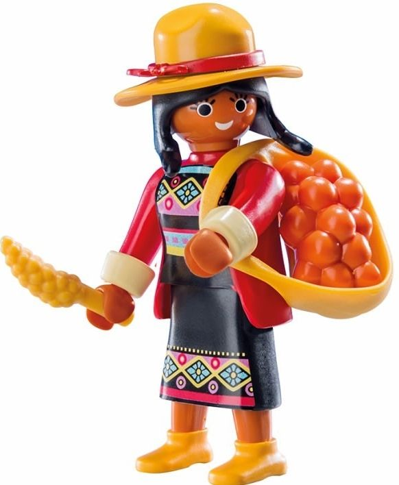 9147. Series 11 (11. Mujer Inca) Playmobil - Figures (9147) front image (front cover)