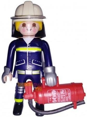 9333. Series 13 (5. Bombera) Playmobil - Figures (9333) front image (front cover)