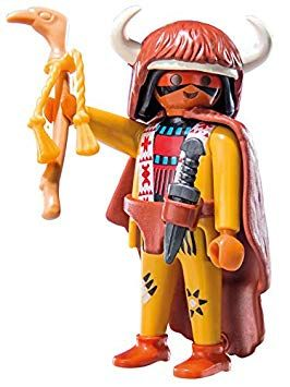 9146. Series 11 (6. Indio) Playmobil - Figures (9146) front image (front cover)