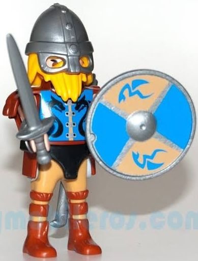 9146. Series 11 (7. Vikingo) Playmobil - Figures (9146) front image (front cover)