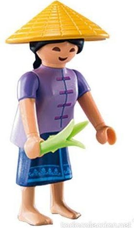6841. Series 10 (5. Recolectora Oriental) Playmobil - Figures (6841) front image (front cover)