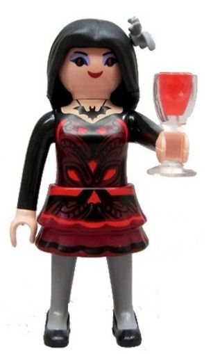 6841. Series 10 (10. Vampira) Playmobil - Figures (6841) front image (front cover)