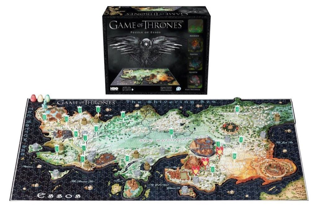 Game of Thrones: Essos Puzzle - 4D Cityscape Inc front image (front cover)